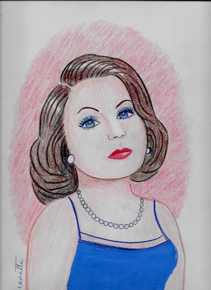 Greta Garbo por Jeanette